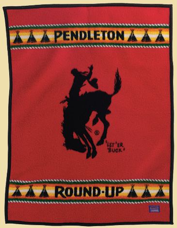 Commemorative Blanket For Calgary Canadian Cowboy