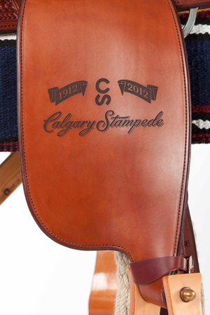 Exclusive Calgary Stampede Saddles Canadian Cowboy