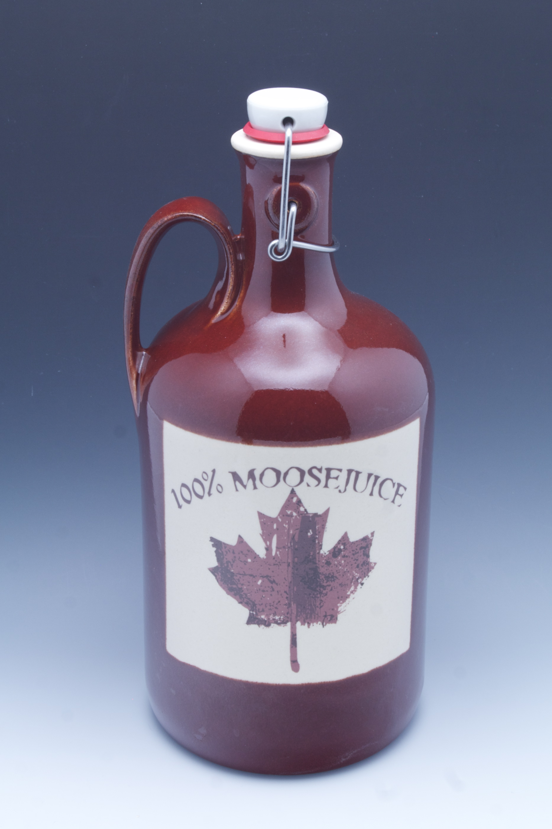 You can get your own custom handmade Growler from Carlburg Pottery in Montana: www.handmadegrowlers.com