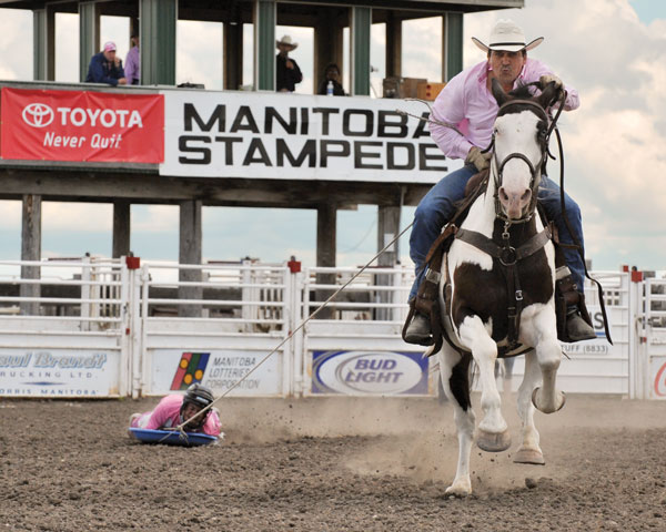 Photo courtesy Manitoba Stampede.
