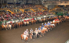 Opening ceremony of the previous year's Heritage Ranch Rodeo.