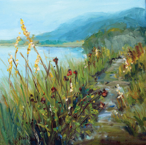 Karen Pederson A Path Well Traveled, oil
