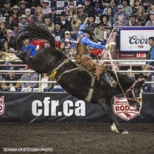 Cody DeMoss, Canadian Finals Rodeo