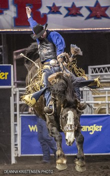 Layton Green; Vold's Easy to Love; Canadian Finals Rodeo
