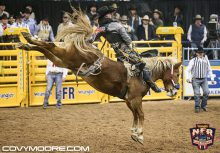 Jake Vold winning Rnd 4 on Lil Red Hawk-Covy Moore photo
