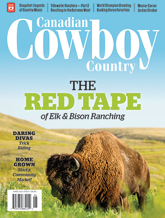 Current Canadian Cowboy Country Magazine Cover