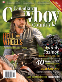 Canadian Cowboy Country magazine cover October/November 2013