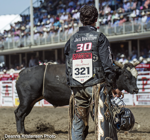 Ty Pozzobon, PBR, Calgary Stampede, Bull Riding