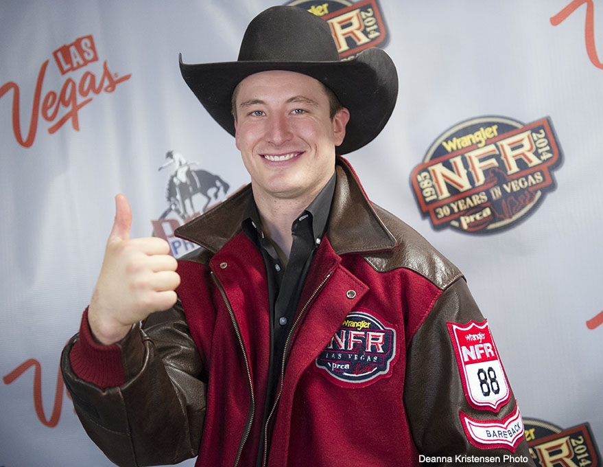 Jake Vold WNFR 2014