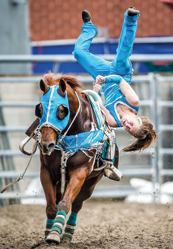 Trick Riding Down Under Canadian Cowboy Country Magazine